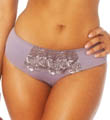 Creme Bralee Colette Embroidered Micro Hipster Boyshort Panty 12319BL