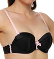 Jezebel Indulge Woven Satin with Lace Trim Push-up Bra 24174