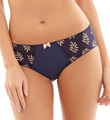 Panache Tango Brief Panty with Shiny Trim 9072