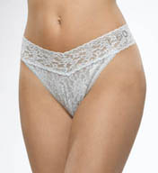 Hanky Panky I Do Original Lace Thong 6511