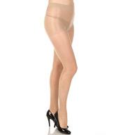 Hue So Silky Sheer Gloss With Control Top Pantyhose 13363
