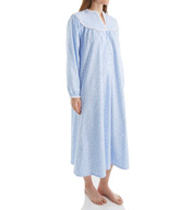Lanz of Salzburg Long Sleeve Flannel Gown 5416824