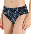 Tommy Bahama Vintage Map High Waist Sash Swim Bottom TSW25407B