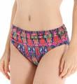 Tommy Bahama Ikat Tie Dye High Waist Sash Swim Bottom TSW26508B