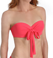 Coco Reef Solid Five Way Convertible Bandeau Swim Top U11988
