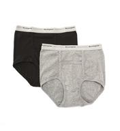 Munsingwear Comfort Pouch Cotton Full Rise Brief - 2 Pack MW21A
