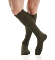 Pantherella Over The Calf Merino Wool Ribbed Socks 6796